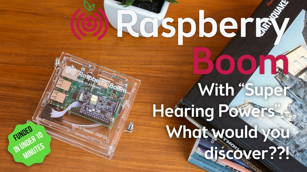RASPBERRY BOOM: Atmospheric Monitor - The Weather & Beyond project video thumbnail