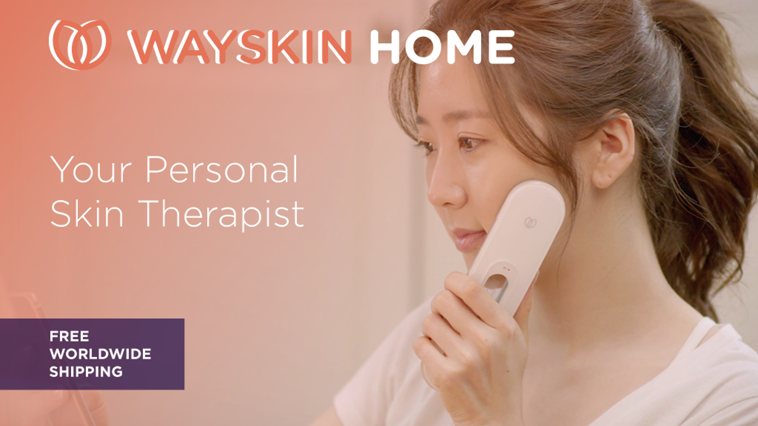 Care for your skin at home with a clinical-quality diagnosis and LED care.