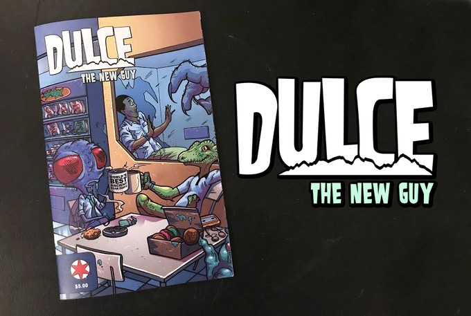 Image result for dulce the new guy kickstarter