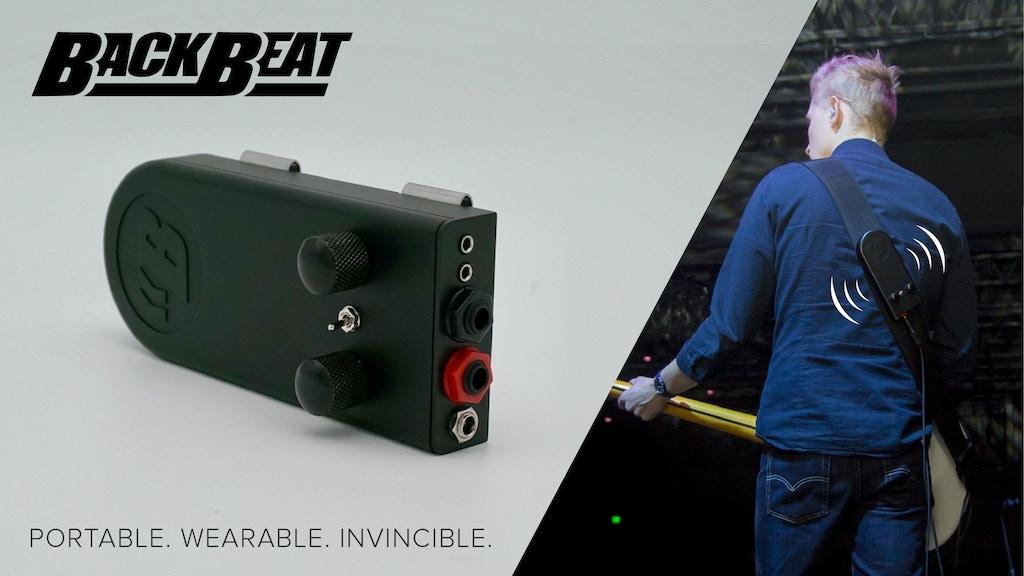 BackBeat - Play bass. Feel bass. project video thumbnail