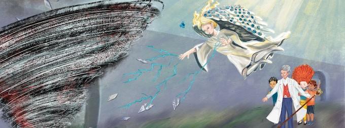 Angel Battles Dark Energy