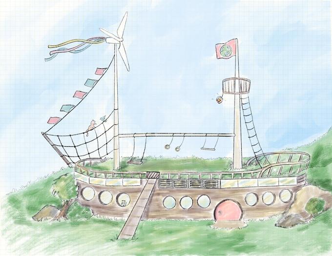 The Earthship!