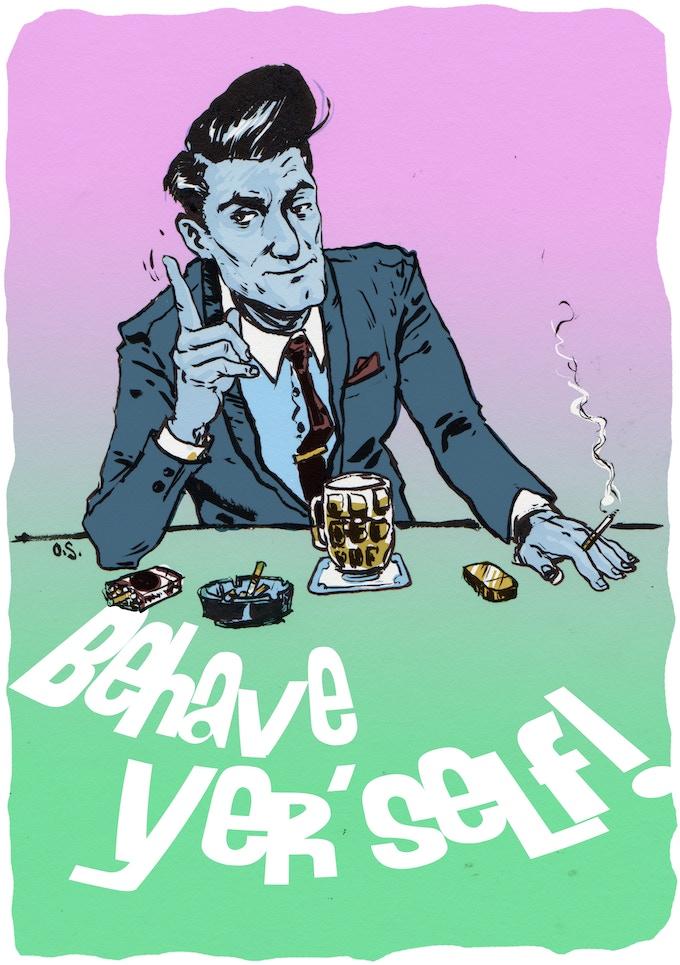 Guest Art Card by Owen Sherwood