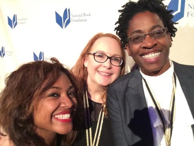 Saraciea Fennell, Deborah Wiles, Jacqueline Woodson, National Book Awards 2014