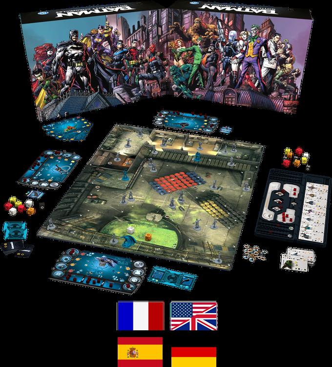 Batman™: Gotham City Chronicles by Monolith Board Games LLC