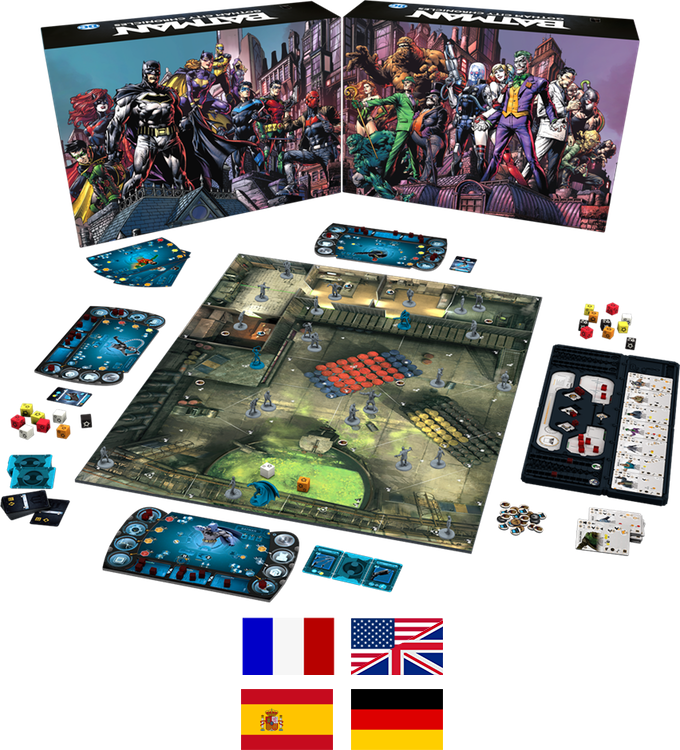 batman the board game kickstarter