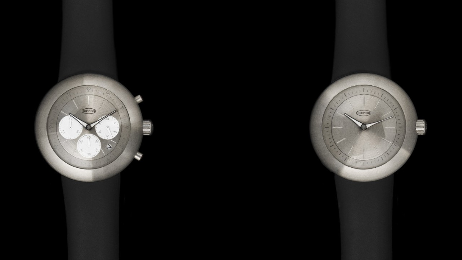 The icon of minimalist  watch design is back. Original Ikepod design, same quality, new prices. The campaign is already successfully funded but it is still possible to pre-order by clicking on the button below.