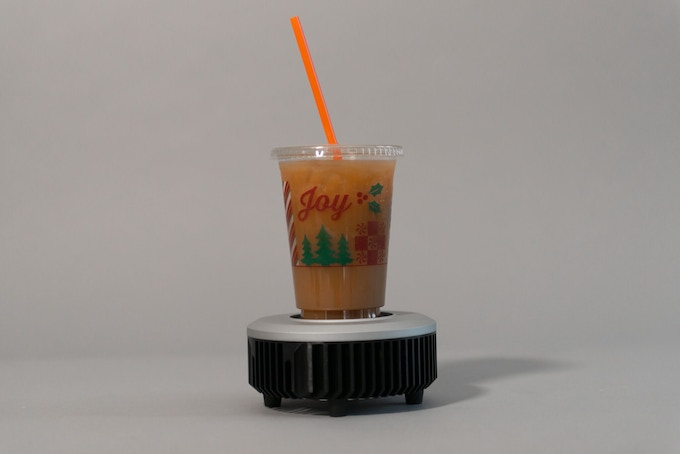 Drink Induction Chiller (Electric Coaster) by Rose Dynamics