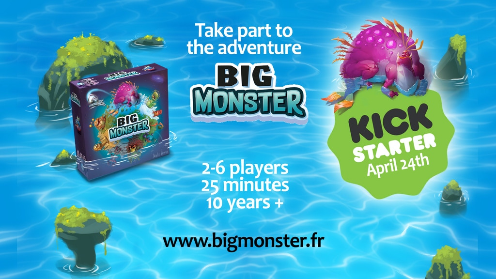 BIG MONSTER, an innovative game with colorful monsters! project video thumbnail