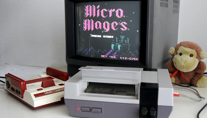 Micro Mages: A new game for the NES by Morphcat Games