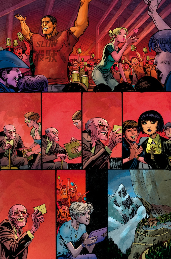 Preview art by Justin Norman and Paul Mounts