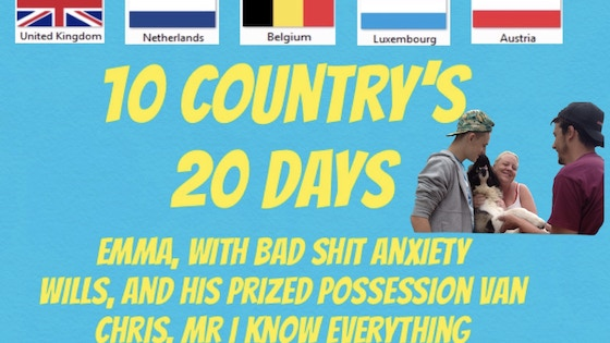 10 country's in 20 days photo book and videos