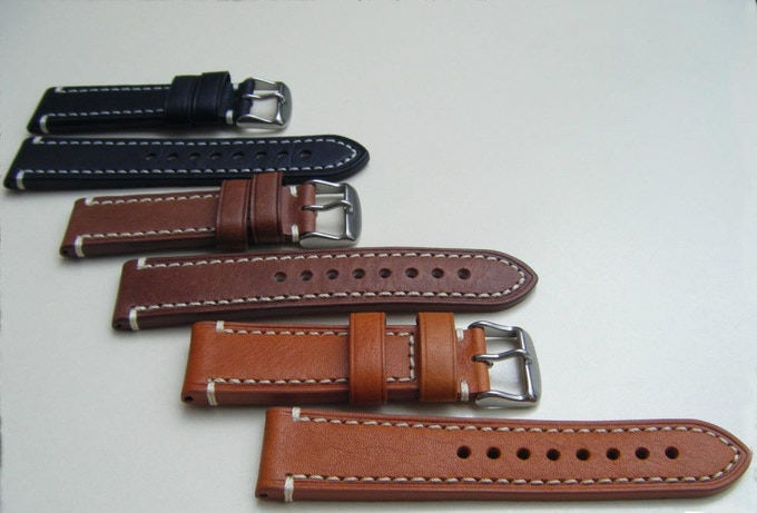 Leather strap MADE IN ITALY