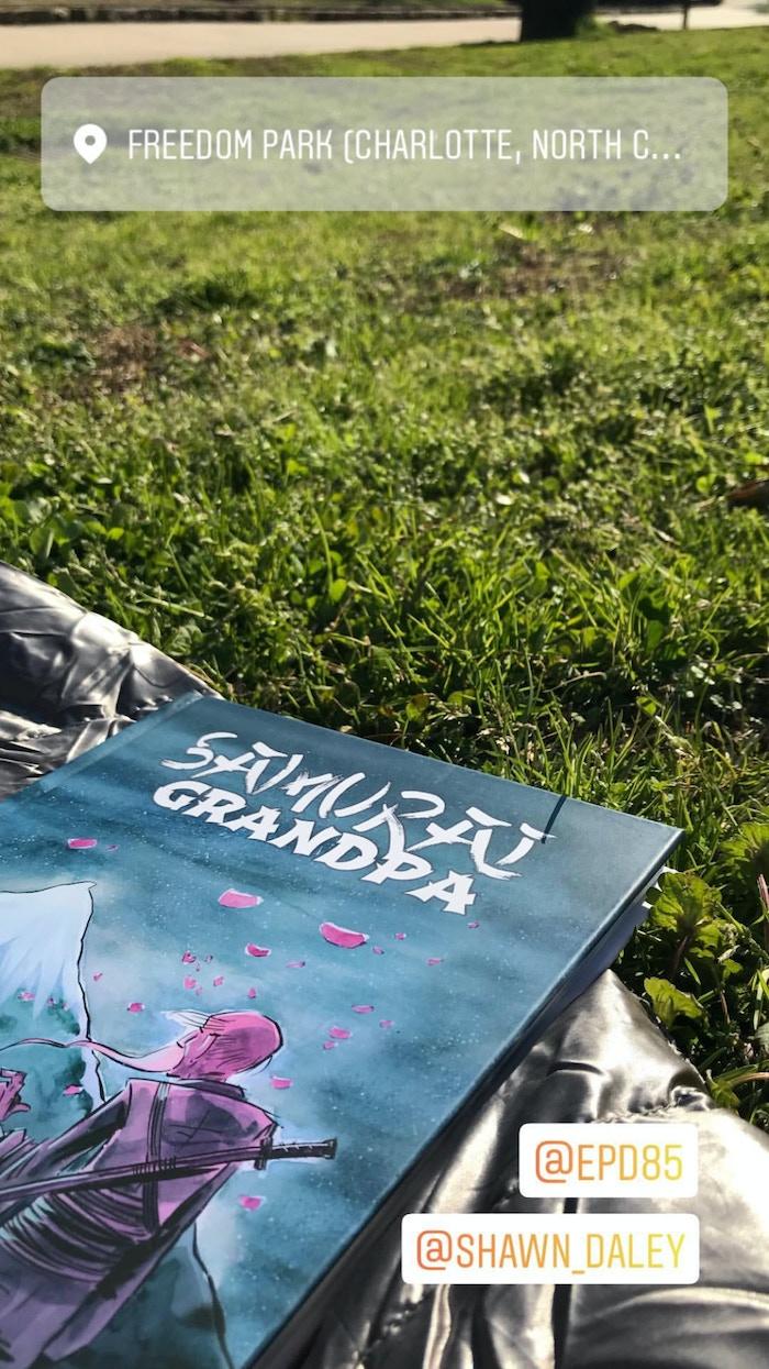 Samurai Grandpa - A Complete Graphic Novel by Howl Comics