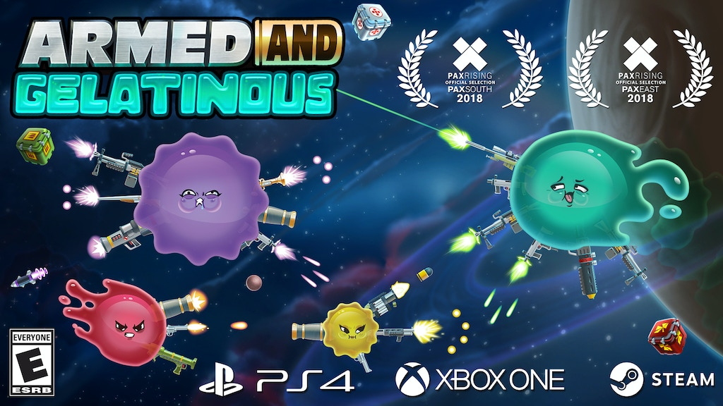 Armed and Gelatinous: An Online 4P Bullet-Hell Space Shooter project video thumbnail