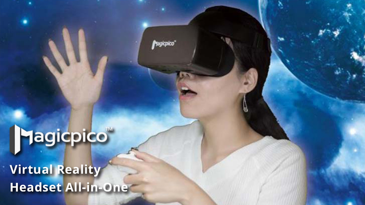 Get your Magicpico™VR now and immerse yourself in the ultimate virtual reality world!