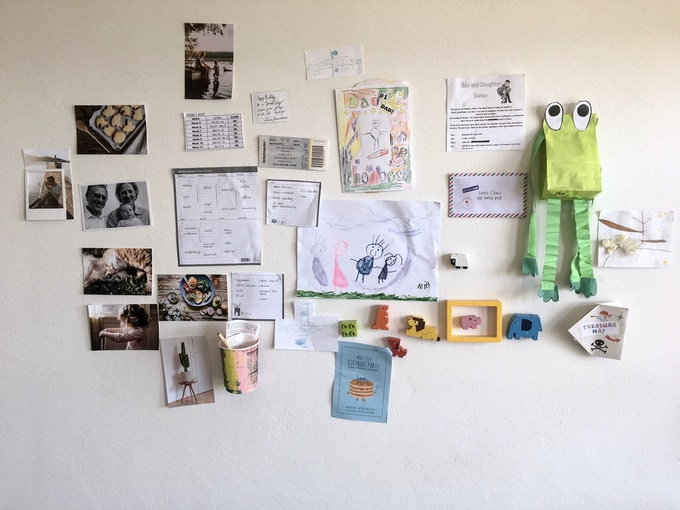 wall clutter