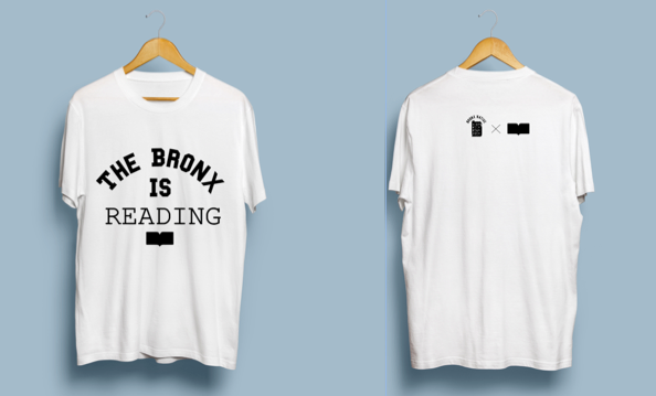 Bronx Native x Bronx Book Festival Collab Collegiate T-Shirt