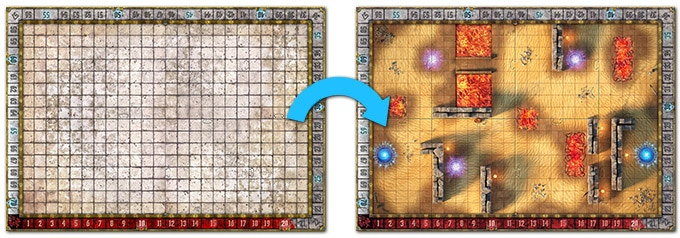 Arena: the Contest - Tabletop Miniatures Board Game by