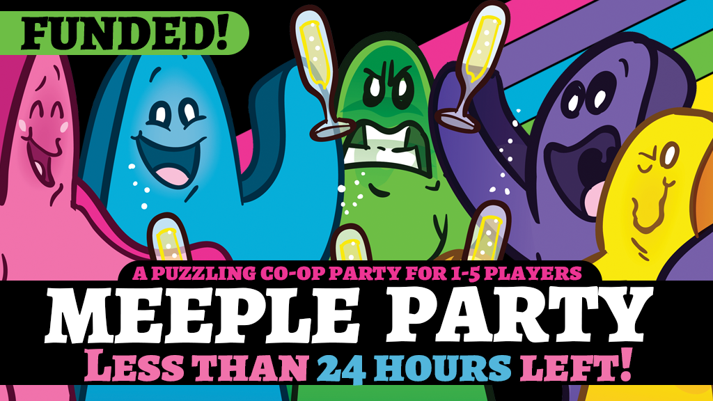 MEEPLE PARTY Cooperative Board Game project video thumbnail