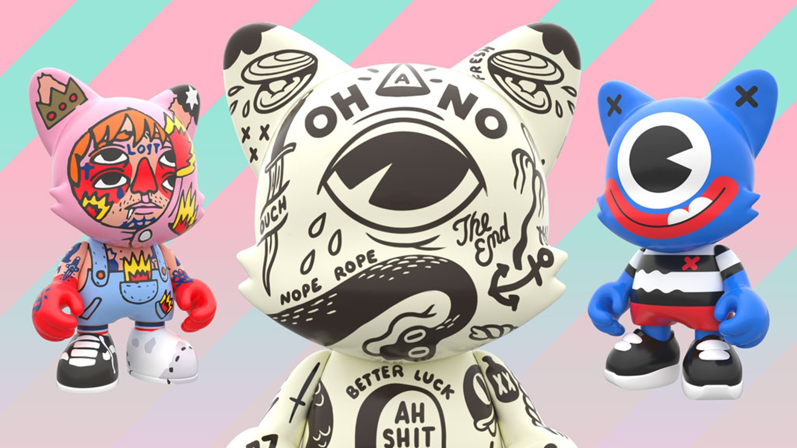 JANKY: Limited Edition Art Toys by Superplastic