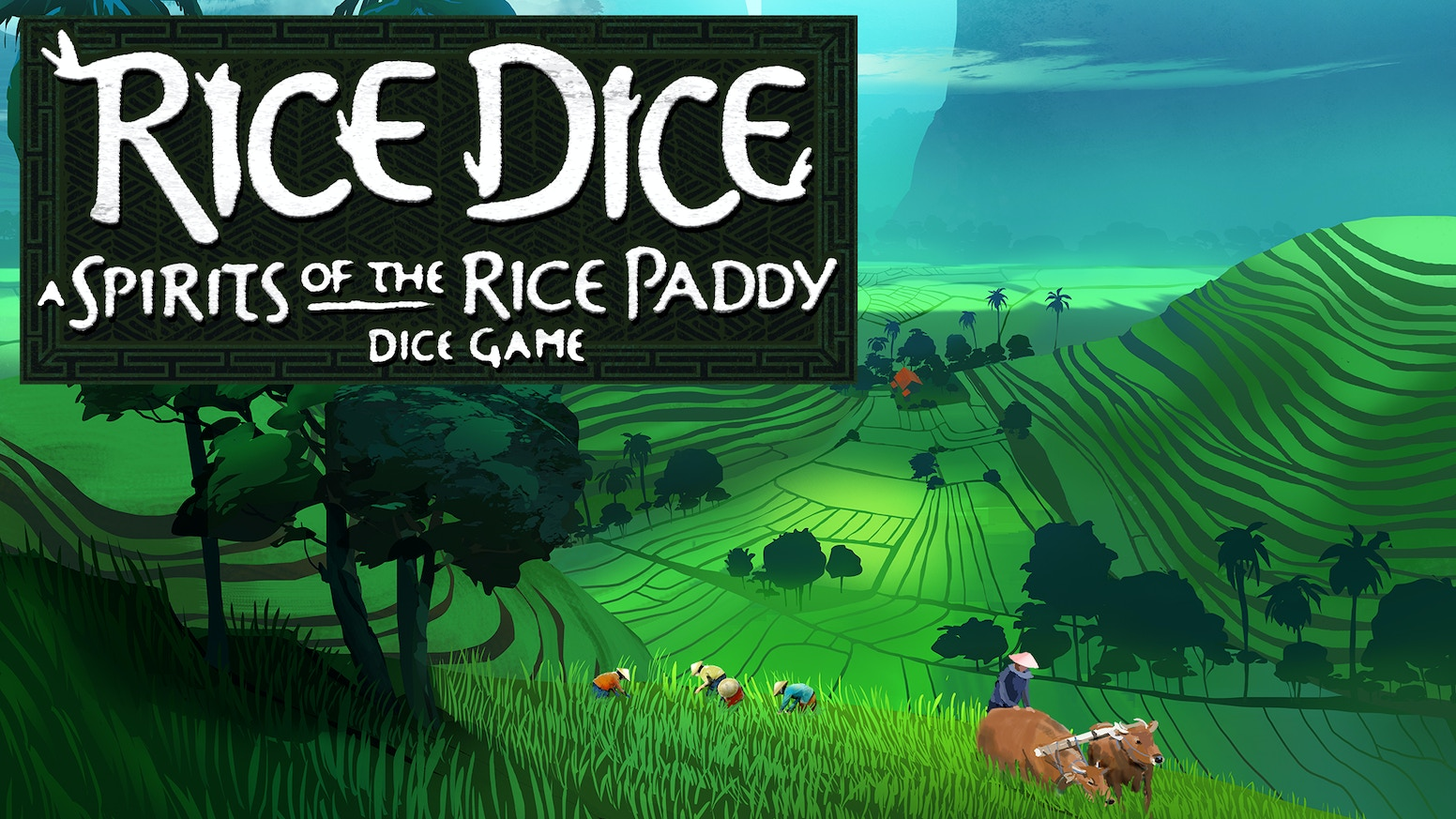 A streamlined, elegant rice farming dice game in the 'spirit' of its big brother - Spirits of the Rice Paddy.