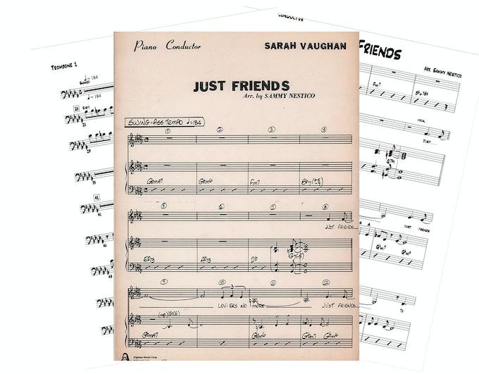 Nobody could sing like Sarah. - Sammy