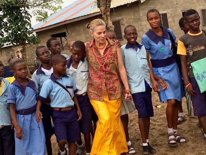 Dena Grushkin, Founder of The Nigerian School Project