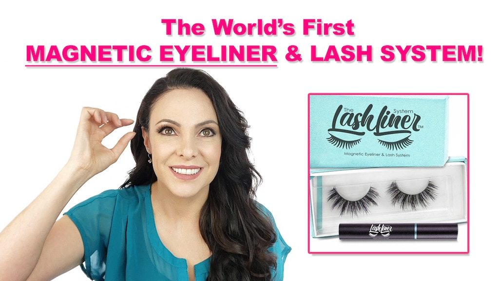 World's First Magnetic Eyeliner and False Eyelash System! project video thumbnail