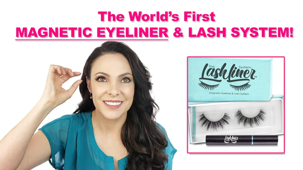 6414968a863 World's First Magnetic Eyeliner and False Eyelash System! project video  thumbnail