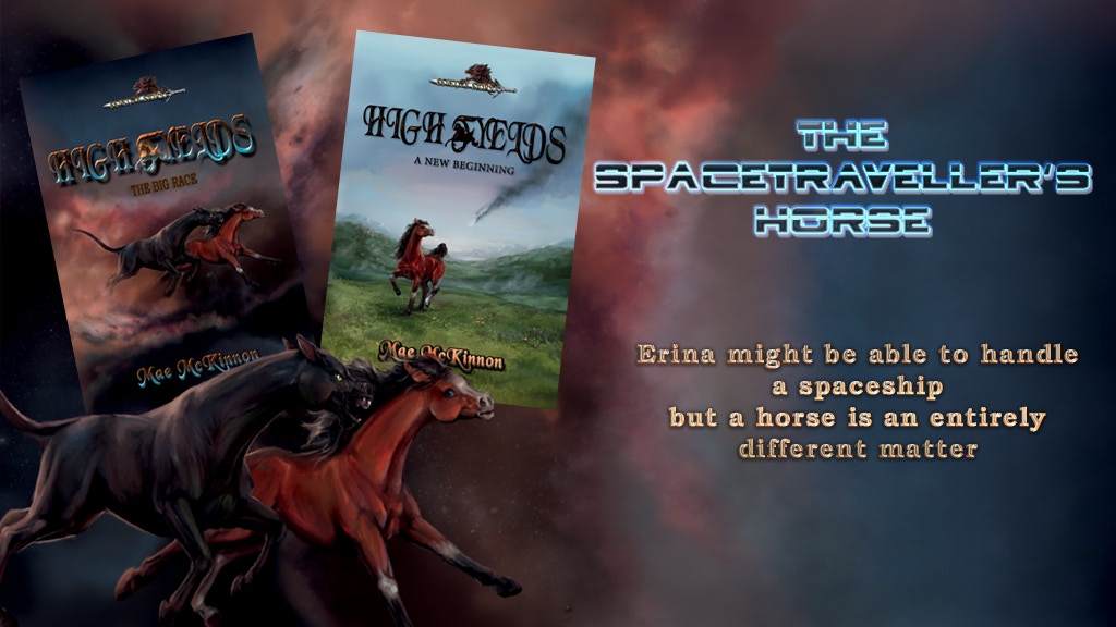 High Fyelds - an equine adventure in space novel project video thumbnail