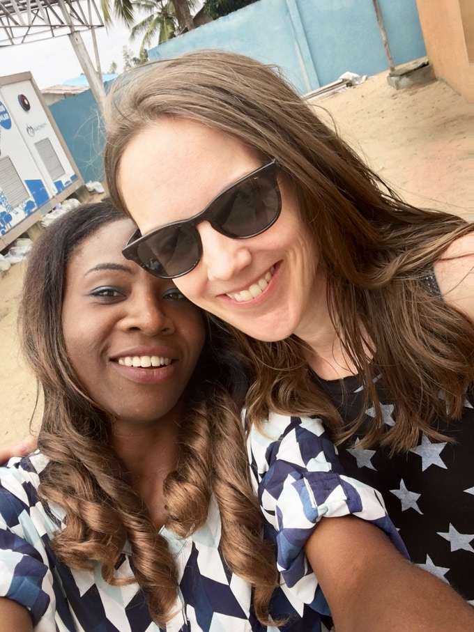 Ruth Odey, Production Assistant with Kimberly Cecchini, Co-Producer & Director