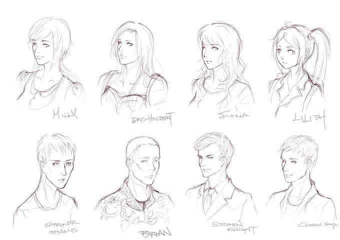 Sub-Character Concept Art
