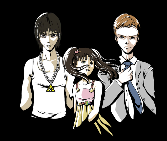 Main Characters Promotional Art