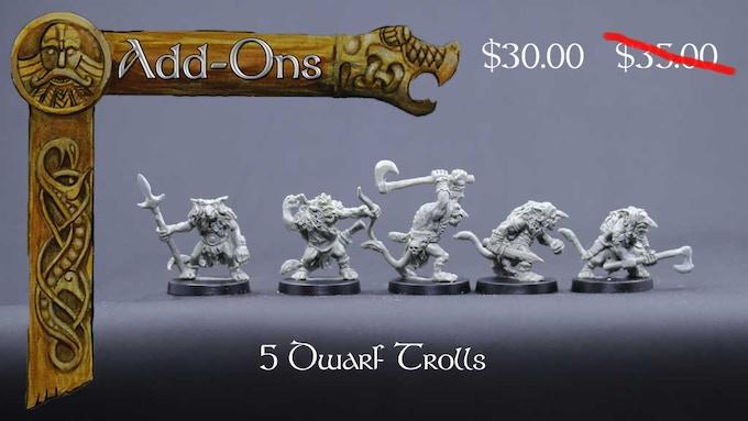 Dwarf Troll set