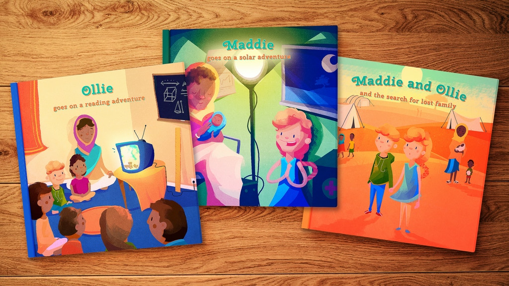Project image for Social innovation story books for young children