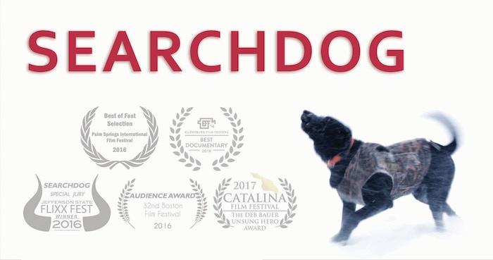 SEARCHDOG is a film about Matthew Zarrella, a search specialist who transforms pound dogs into Search & Rescue K9s.