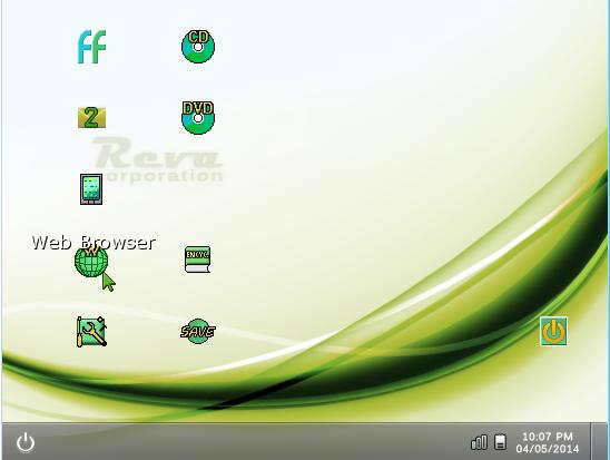 Simulated PC Desktop