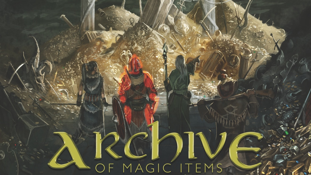 Archive of Magic Items for 5th Edition by Tim Gonzalez