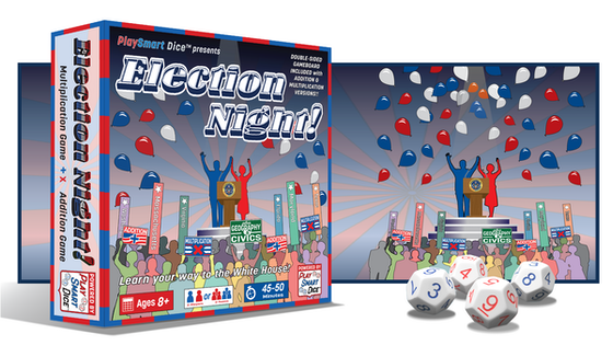 Election Night! Learn your way to the White House