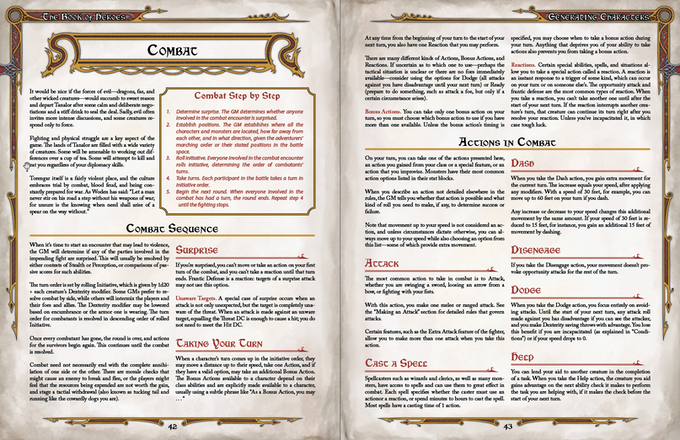 The Dragon Heresy Introductory Set Fantasy RPG (5E-variant) by