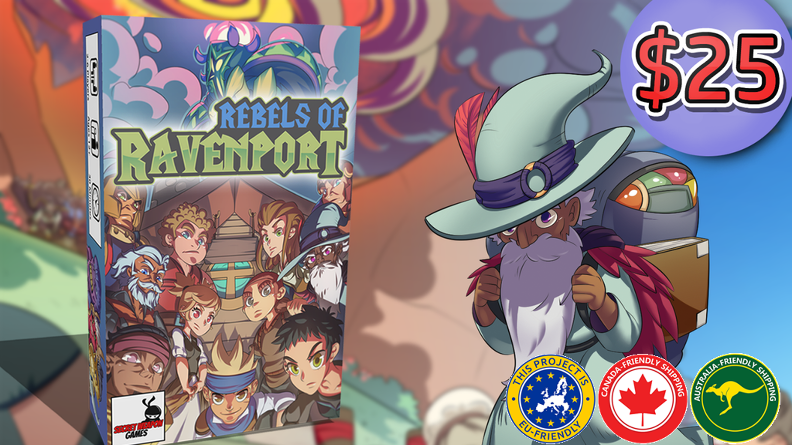 Assemble your guild. Defy the overlord. Take back Ravenport! A competitive card drafting strategy game.