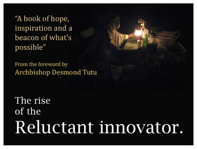 """The Rise"" came with a foreword by Archbishop Desmond Tutu, and became a Development Studies best seller on Amazon"
