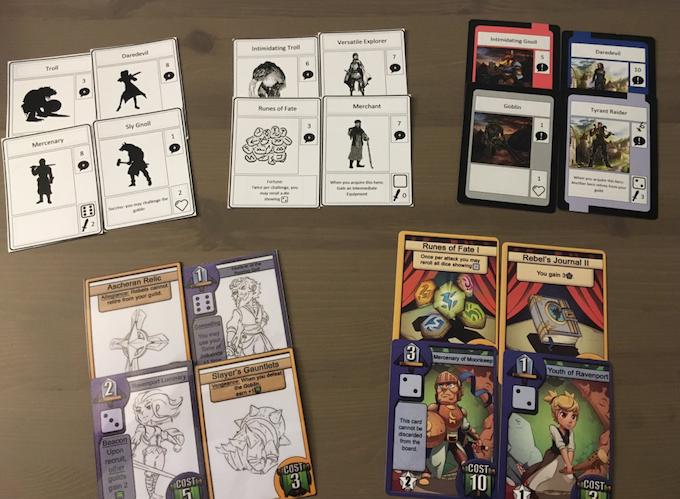 Ravenport Prototypes throughout 2017