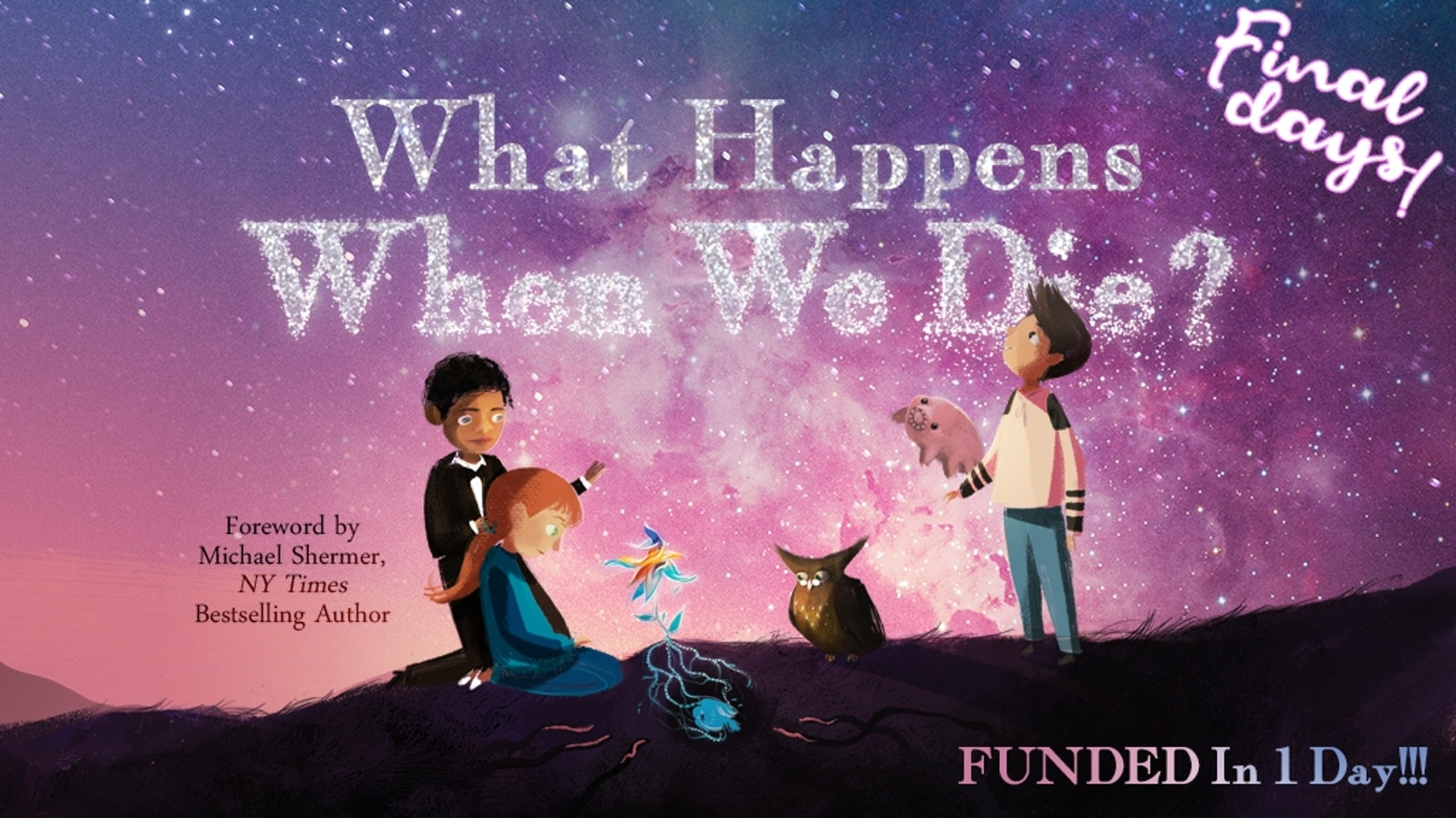 A gorgeously-illustrated book that empowers children to understand & cope with loss, and inspires them to live the best lives they can!