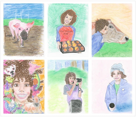 Illustrated by Gillian Meghan Walters. Samples from Volume 1.