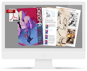 Deluxe digital edition of Digitopia issue 1
