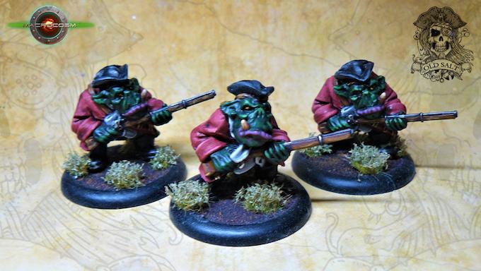 3 Rifle Orcs £10