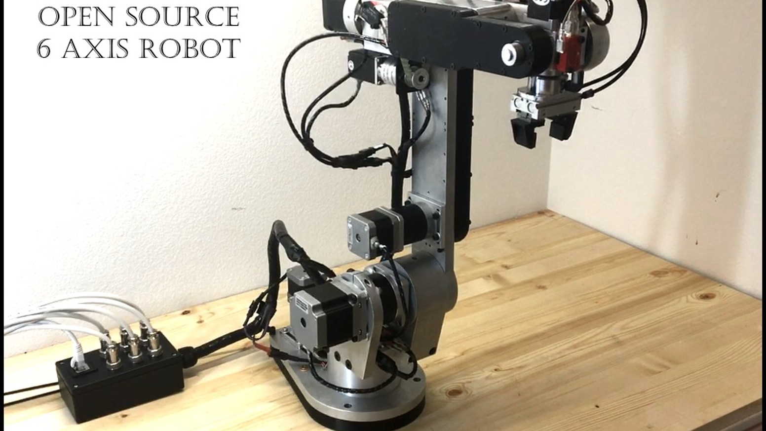 6 Axis Robot Arm - Projects - ODrive Community