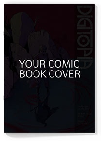 Your comic book cover by Seb & Simon